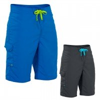 Palm Skyline Surfshorts  - Blue, S