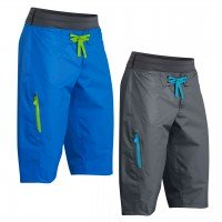 Palm Horizon Shorts  - Blue, M